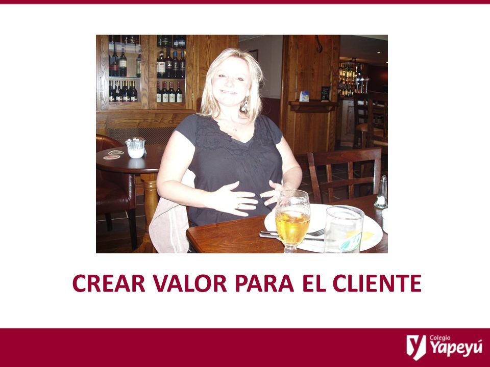 CREAR VALOR PARA EL CLIENTE
