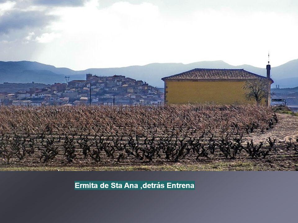 Antiguo molino harinero de agua de Entrena