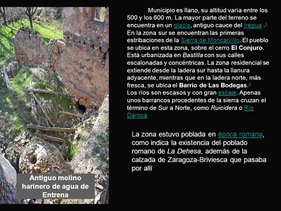 En 1478 los vecinos de Navarrete destruyen unas fortificaciones construidas por los de Entrena.