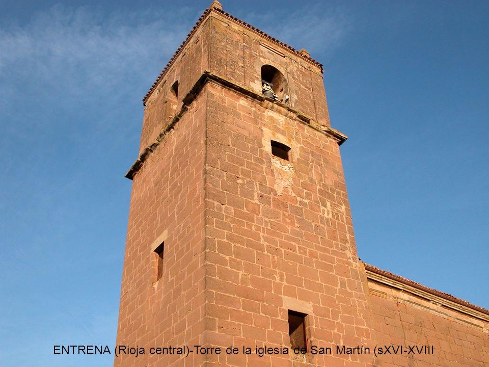 ENTRENA (Rioja central)-Ermita de Santa Ana (sXVIII).
