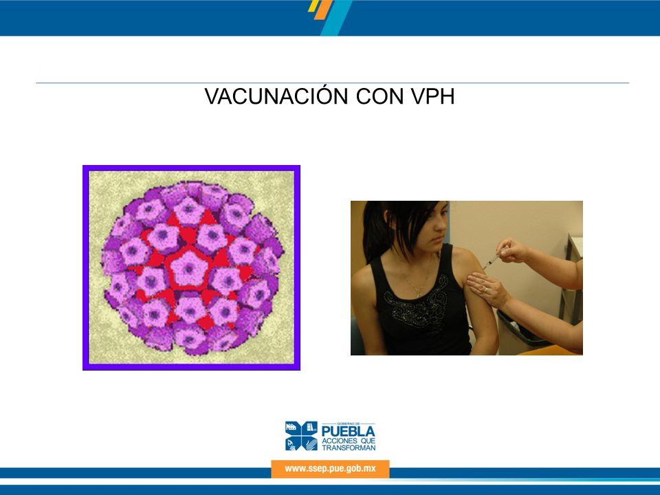 VACUNACIÓN CON VPH