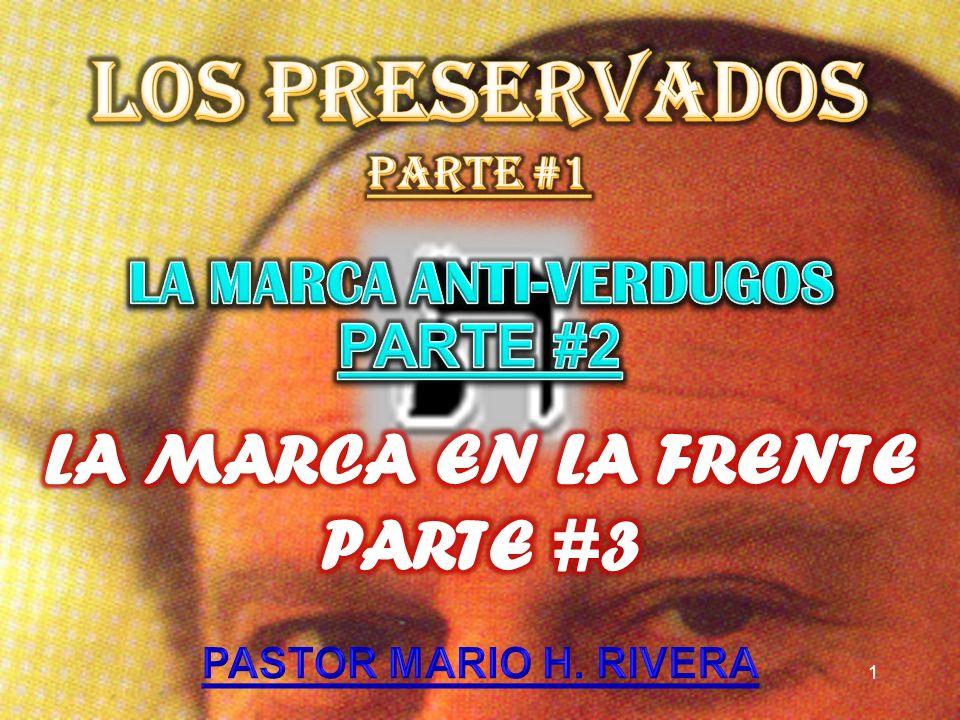 LOS PRESERVADOS.2 LA MARCA ANTI-VERDUGOS.