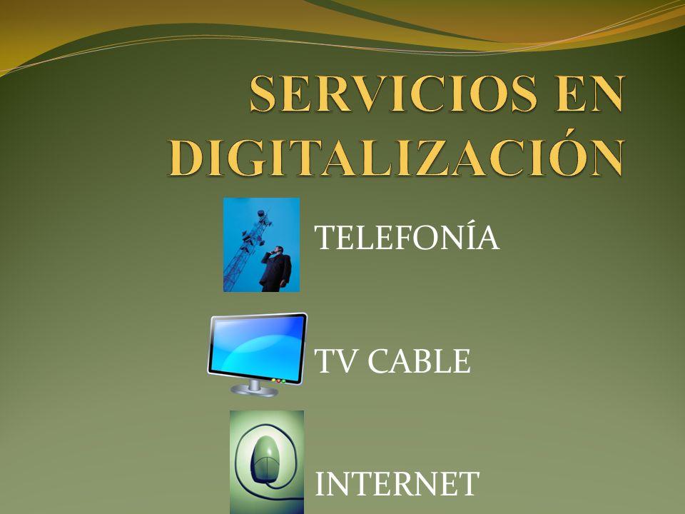 Incorporamos un SOFTSWITCH en la central, encargado de digitalizar la TELEFONÍA.