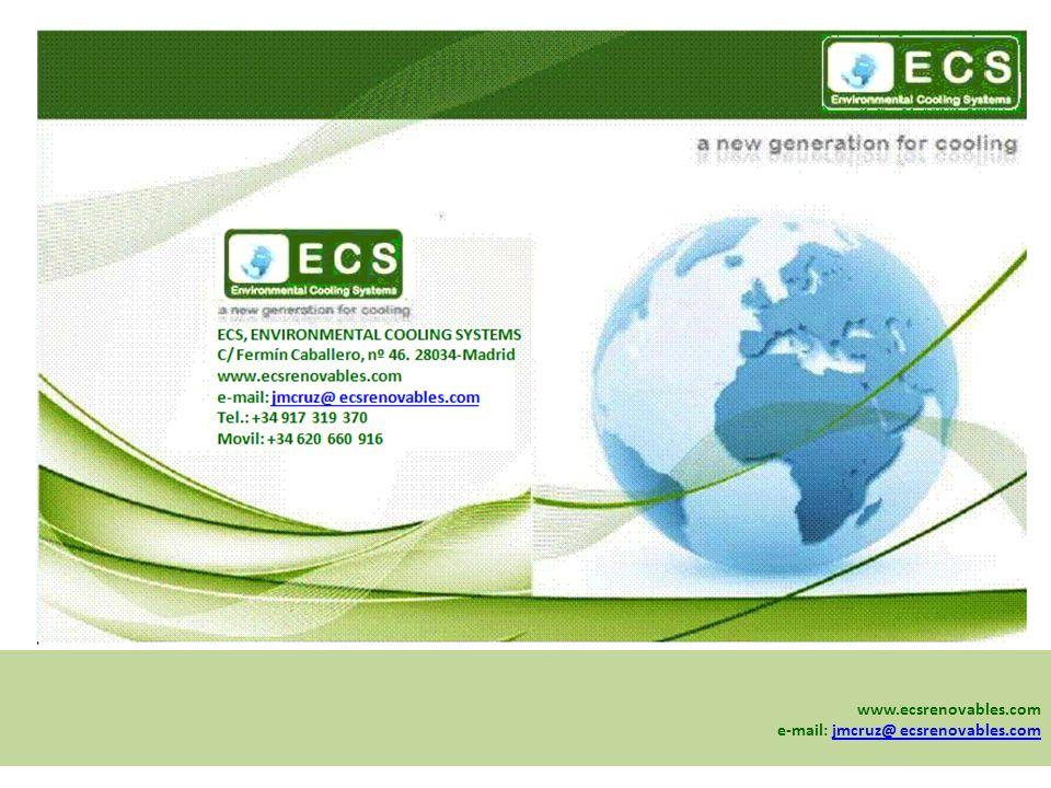 www.ecsrenovables.com e-mail: jmcruz@ ecsrenovables.comjmcruz@ ecsrenovables.com