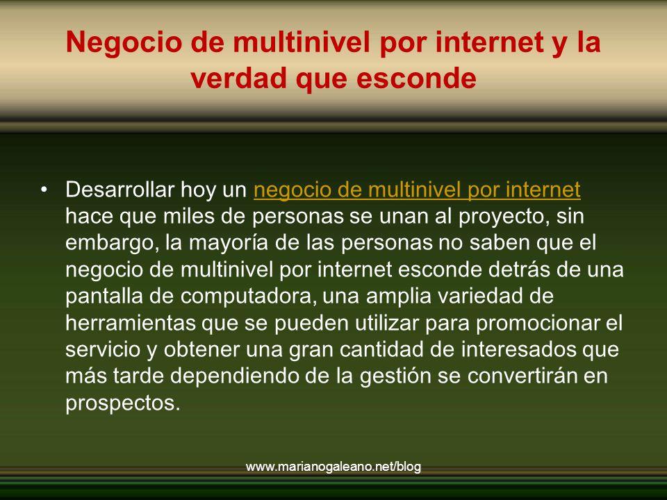 La mentalidad tradicional Sin embargo, deberás ser capaz de descubrir mas allá de tus propias limitaciones, el verdadero sentido de trabajar desde casa desarrollando multinivel por internet.
