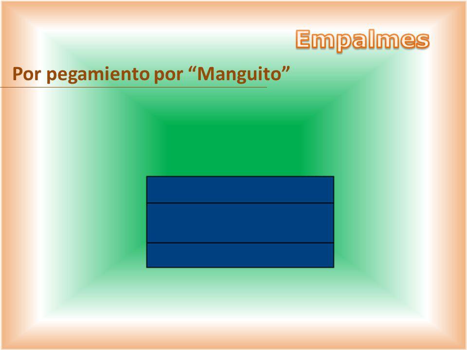 Por pegamiento por Manguito