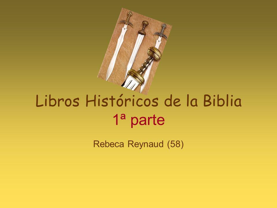 Libros Históricos de la Biblia 1ª parte Rebeca Reynaud (58)