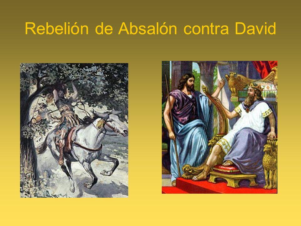 Rebelión de Absalón contra David