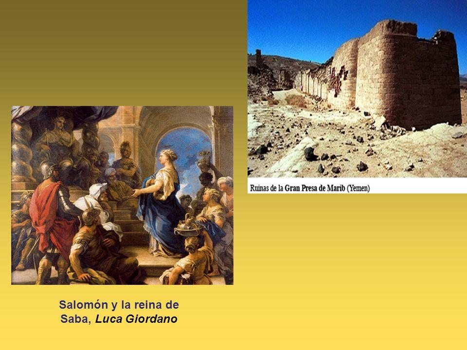 Salomón y la reina de Saba, Luca Giordano