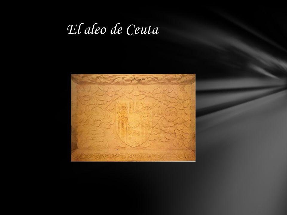 La historia del ¨Aleo ¨o Bastón de Mando de los Generales de CEUTA, encierra uno de los más bellos y románticos episodios de la reconquista de la ciud