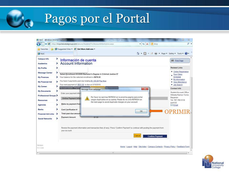 Complete Logout Octavo Paso: Automáticamente se obtendrá el numero de confirmación del pago, seleccionar Complete para salir de la pantalla de pago.