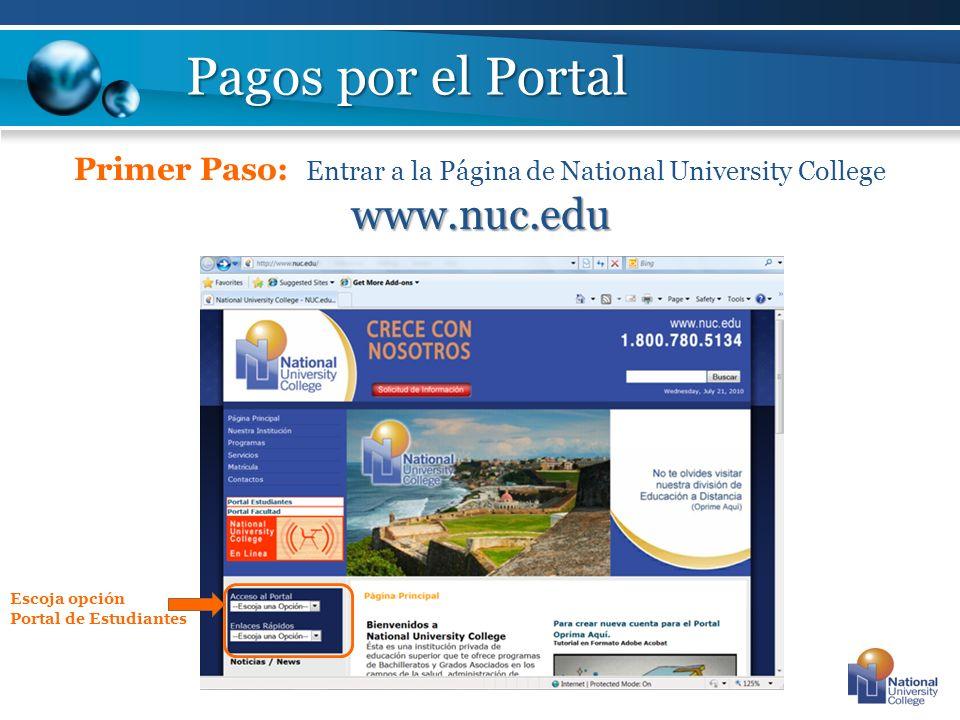 username (y.rosario figueroa) y el password.