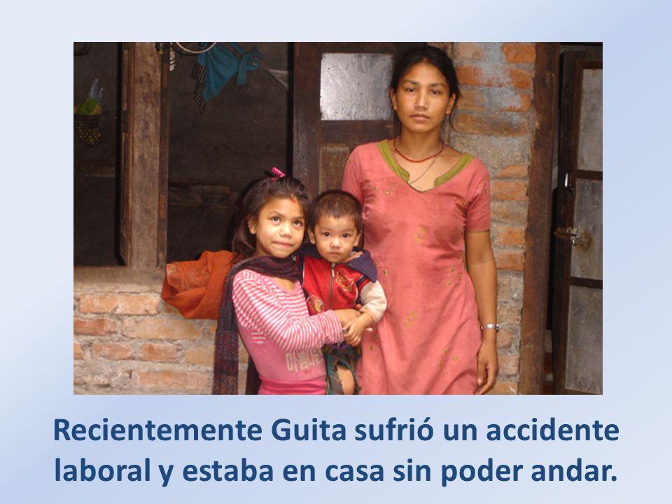 Sunita, la hija mayor, vino a casa diciendo que no tenían comida desde hacía tres días.