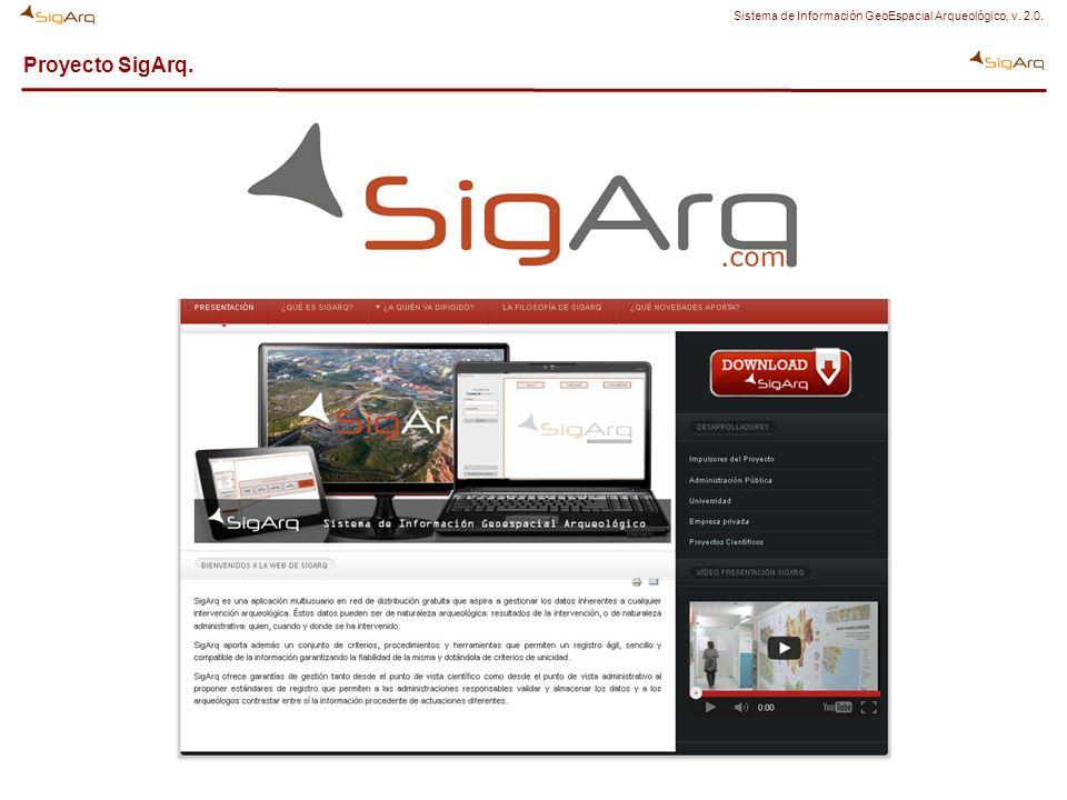 Proyecto SigArq: Participantes y desarrolladores.
