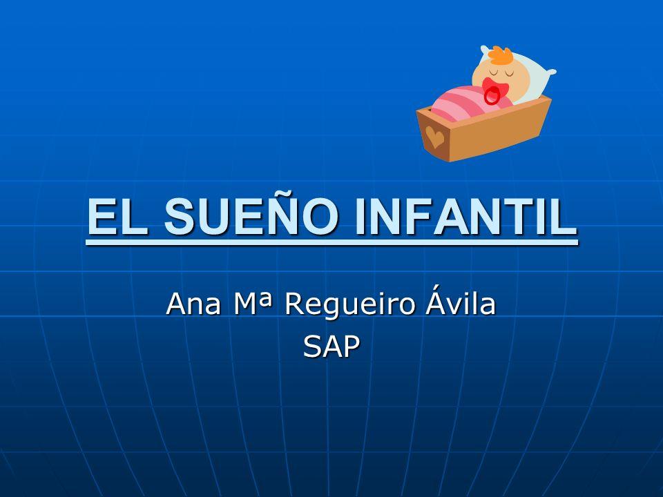 EL SUEÑO INFANTIL Ana Mª Regueiro Ávila SAP