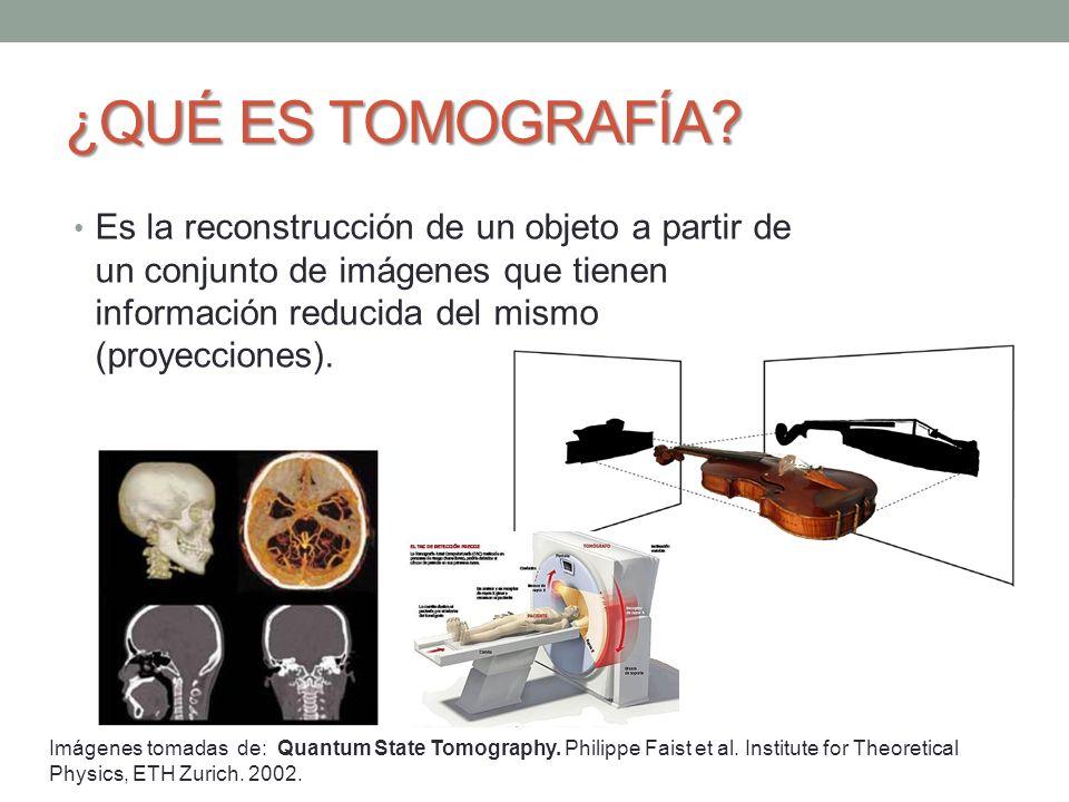 MEDICIONES TOMOGRÁFICAS MEDICIÓN DE POLARIZACIÓN ARBITRARIA