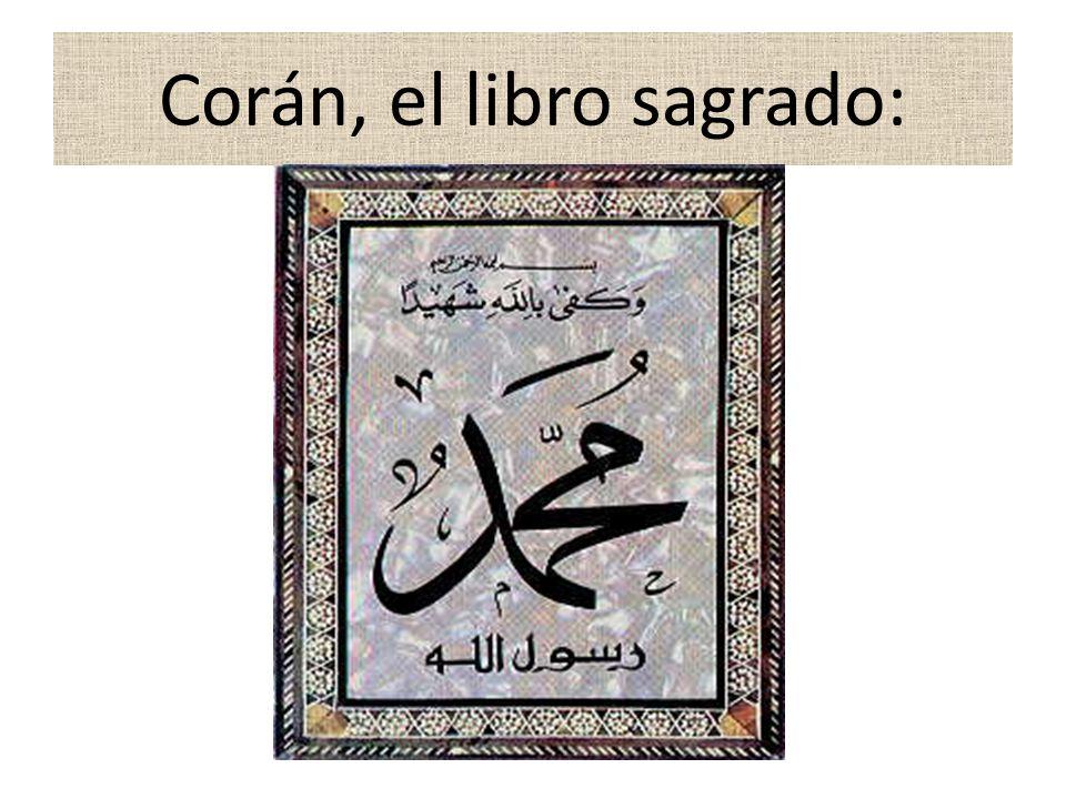 La nueva religión se llamó ISLAM que en árabe significa «Sumisión a Dios».