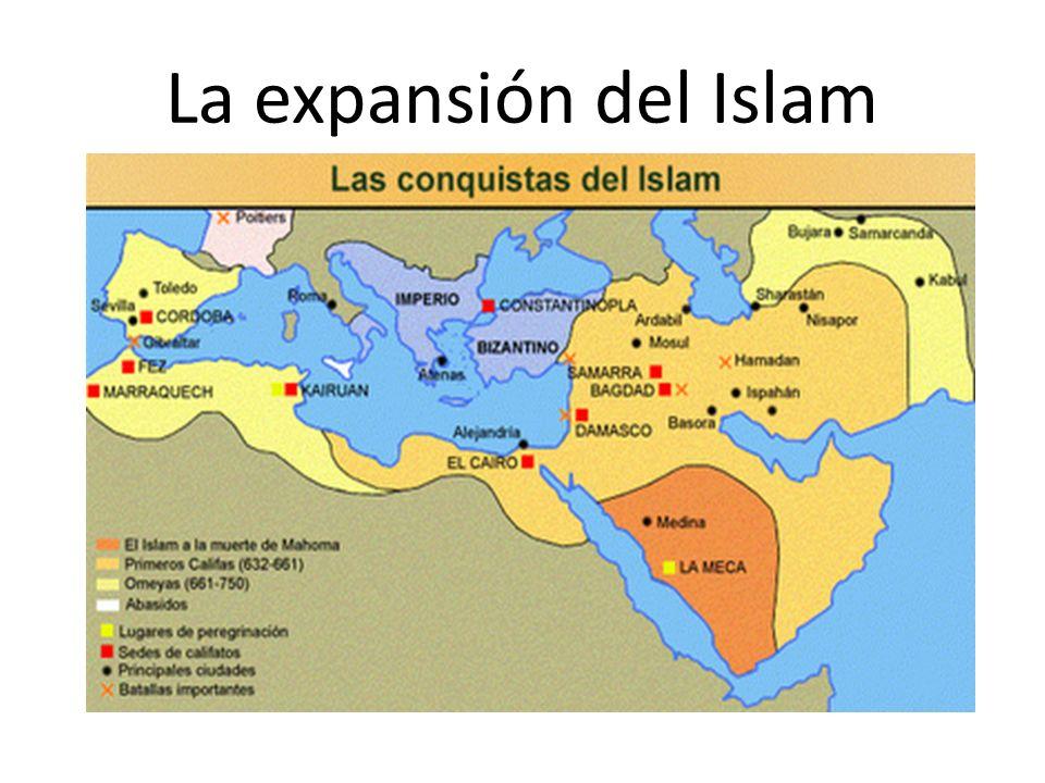 Objetivos: 1.Difundir su religión a través de la GUERRA SANTA (Jihad) que consistía en combatir a los infieles.