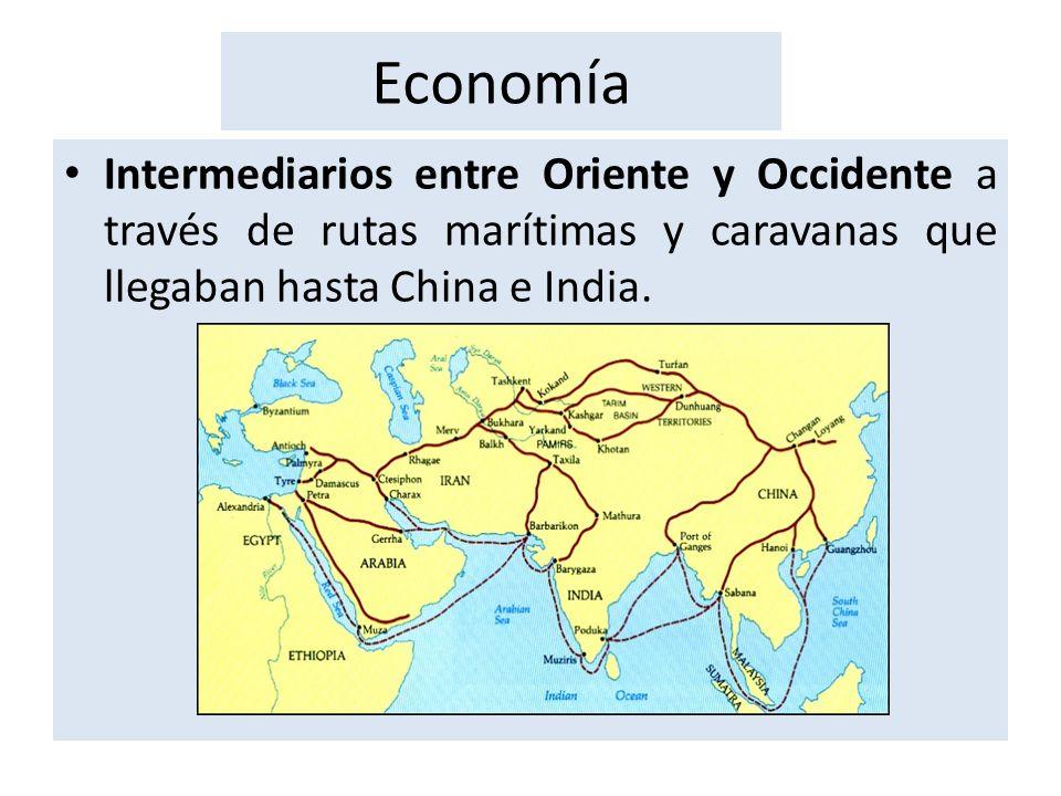 Tomaron de Bizancio el sistema tributario y reintrodujeron en Europa la moneda de oro, que llamaron dinar.