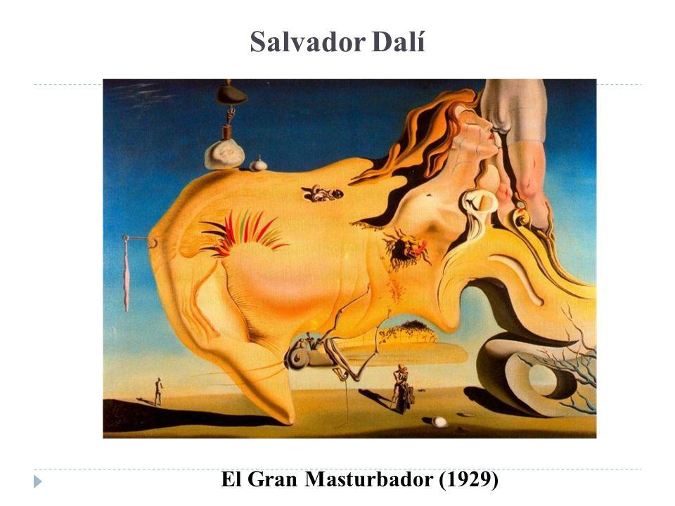 Salvador Dalí El Gran Masturbador (1929)