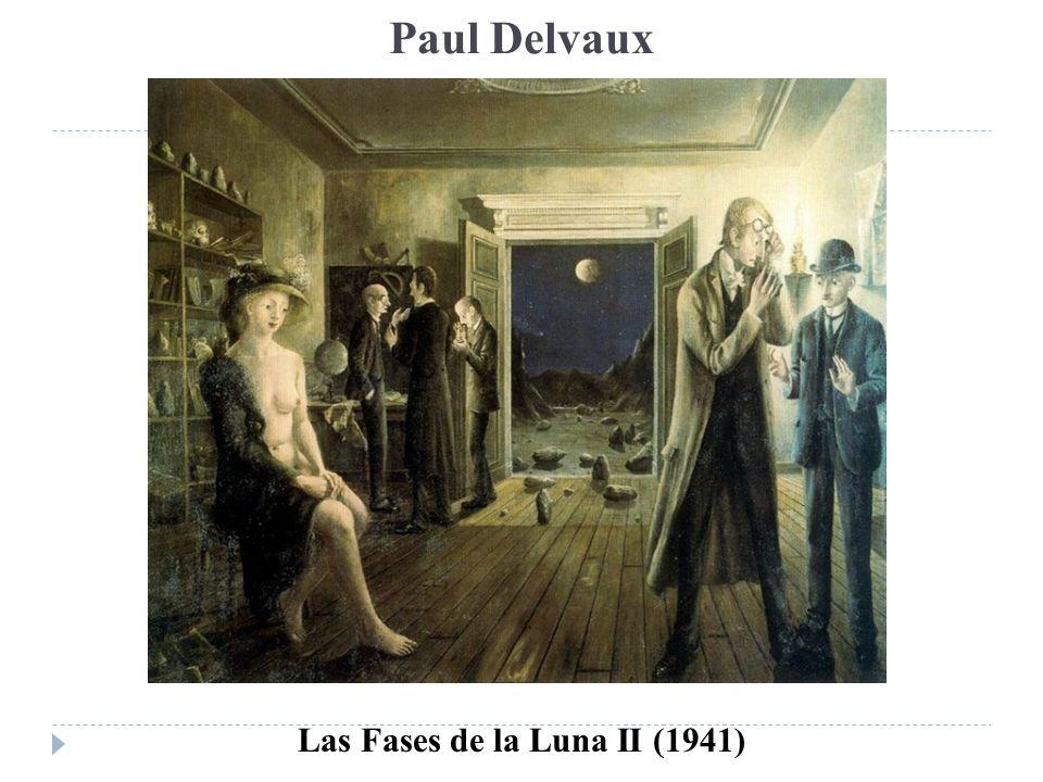 Paul Delvaux Las Fases de la Luna II (1941)