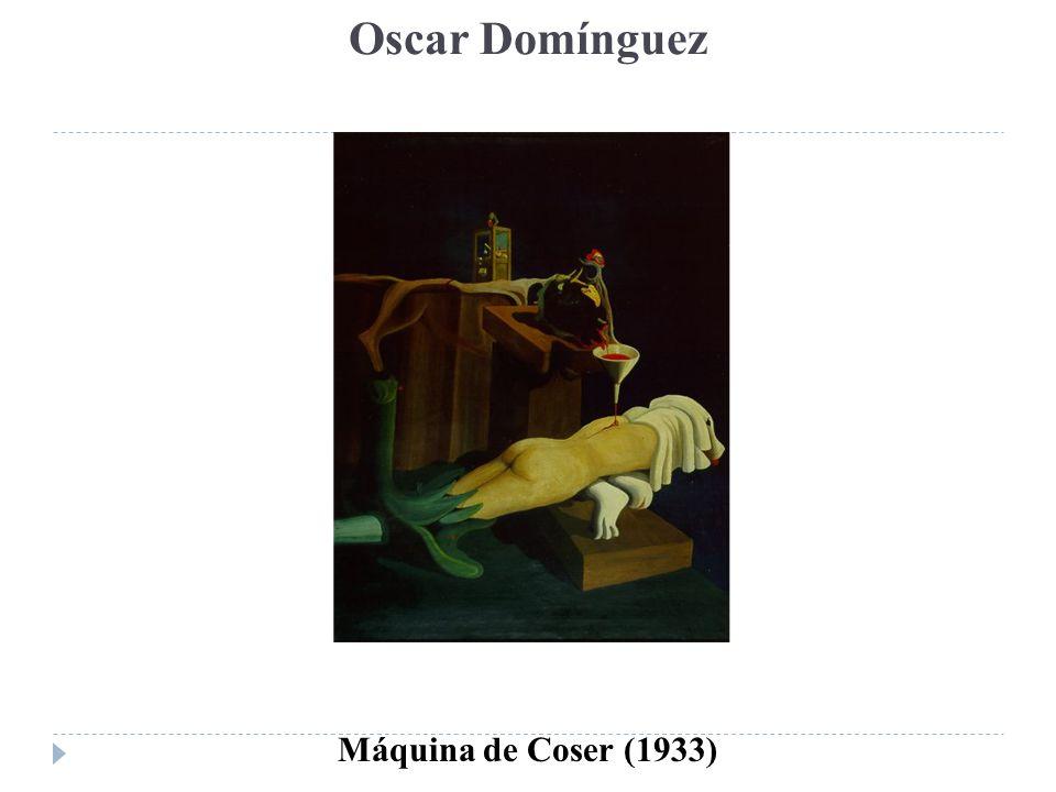 Oscar Domínguez Máquina de Coser (1933)