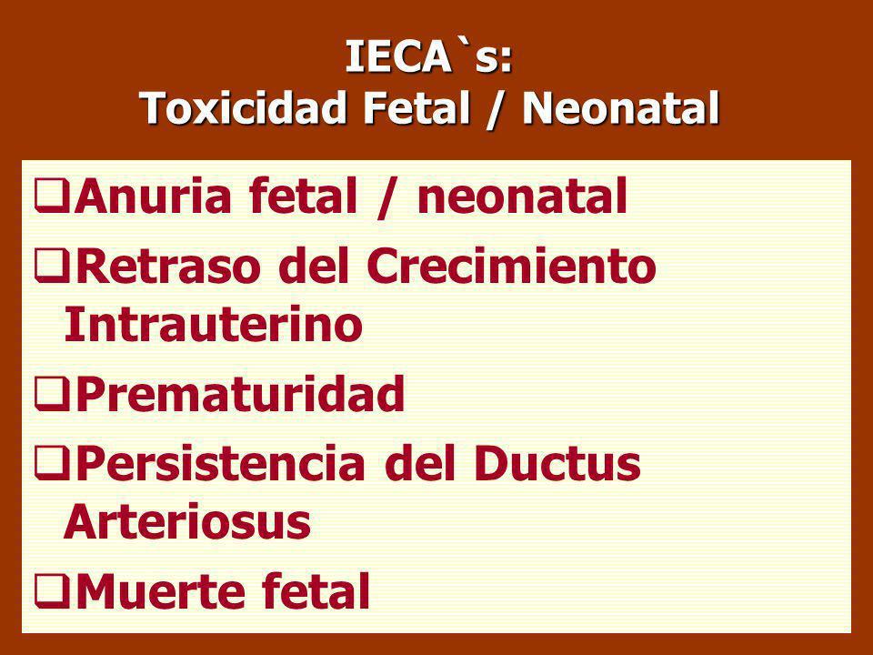 AINESs: Uso Racional La utilización en las últimas etapas de la gestación conlleva un importante riesgo de toxicidad fetal /neonatal. SU USO ESTÁ CONT