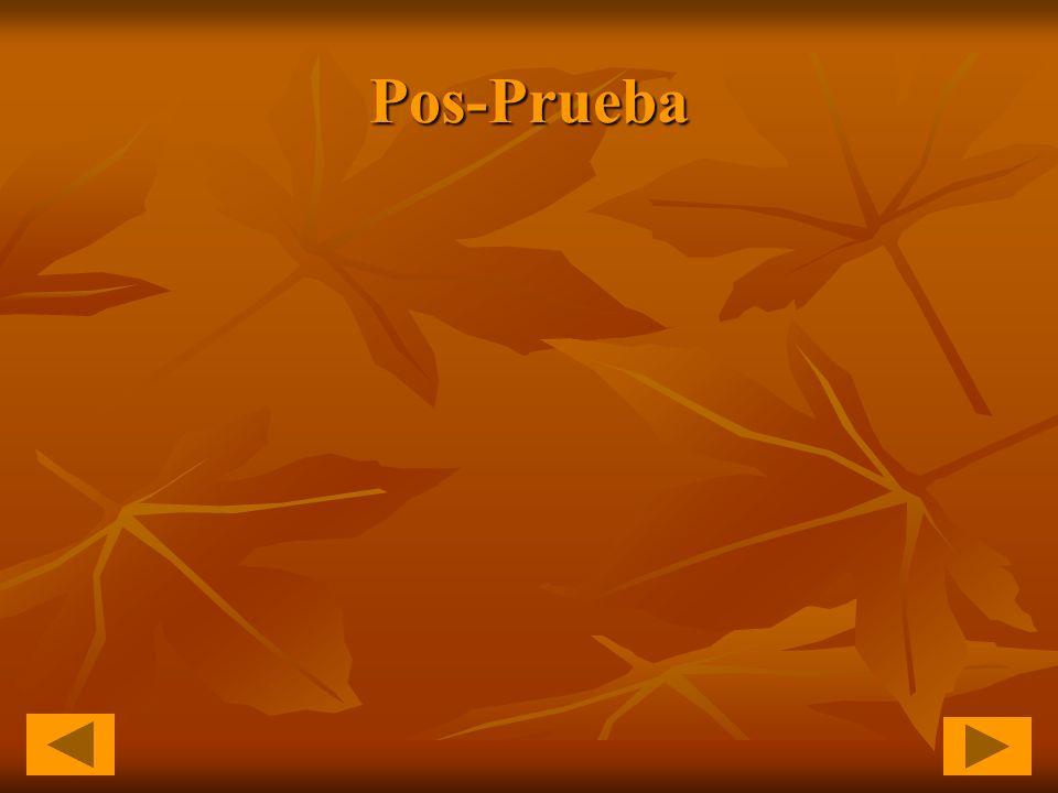 Pos-Prueba