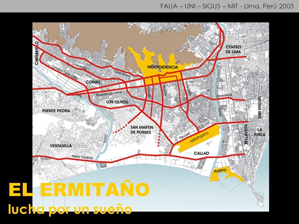 FAUA – UNI – SIGUS – MIT - Lima, Perú 2005 EL ERMITAÑO lucha por un sueño