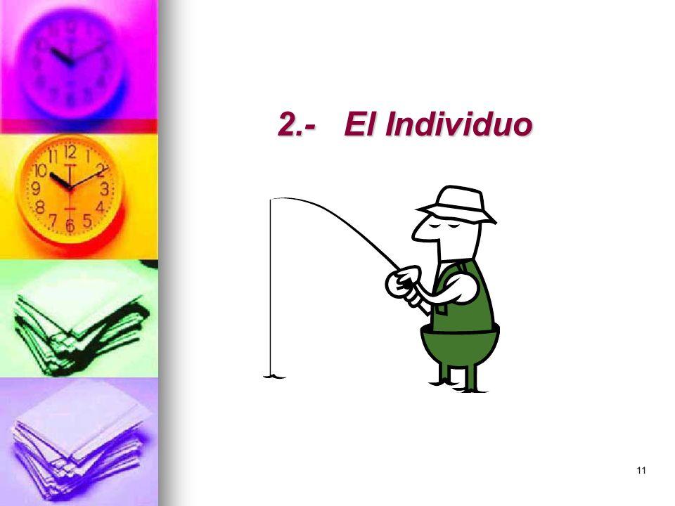 11 2.-El Individuo