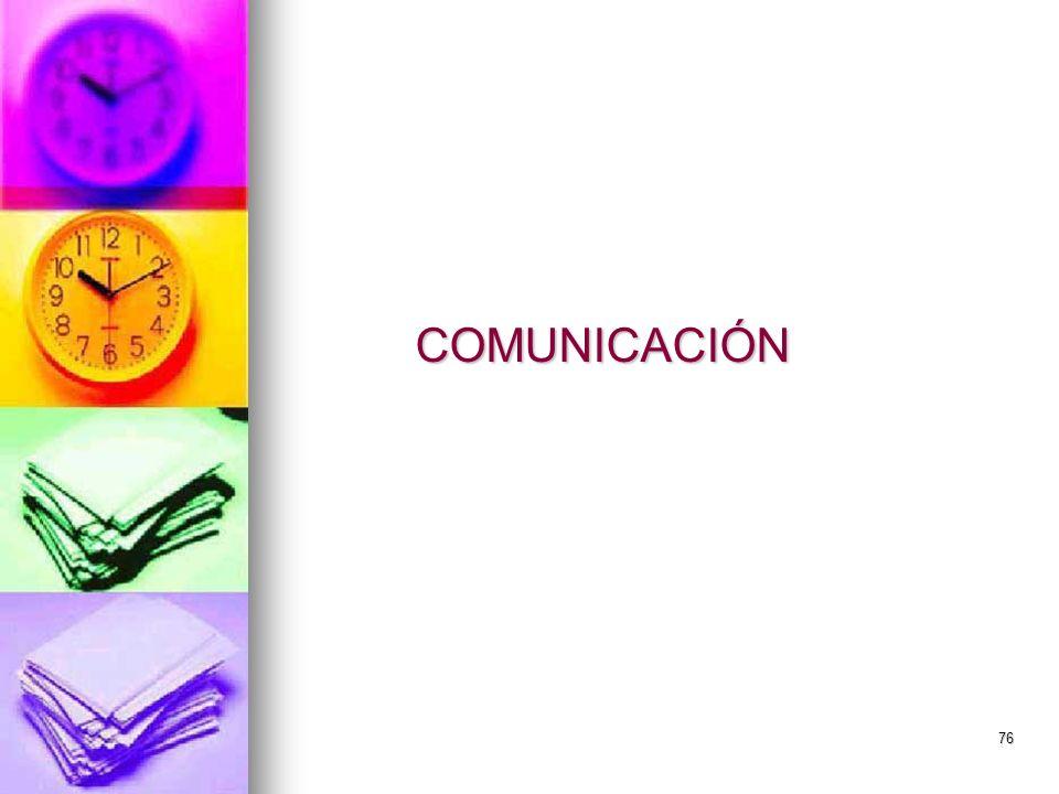 76 COMUNICACIÓN