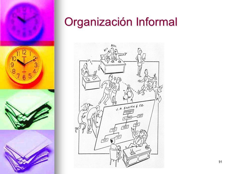 91 Organización Informal