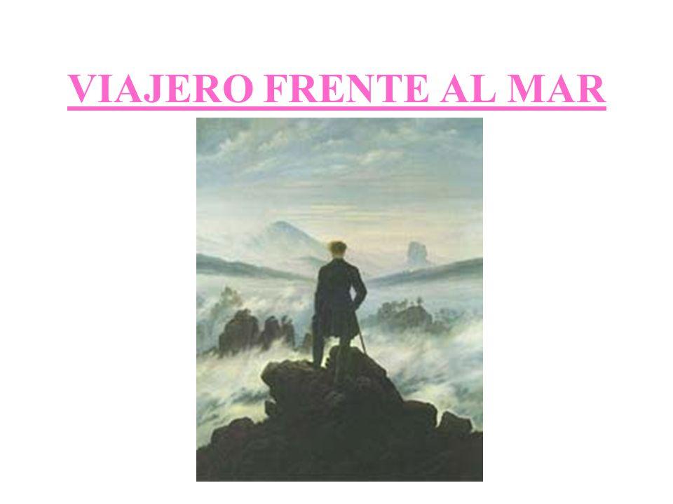 VIAJERO FRENTE AL MAR