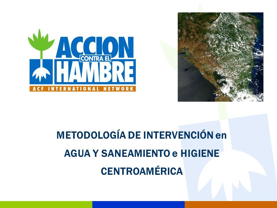 22 Metodología de intervención en agua y saneamiento Para la identificación de comunidades beneficiarias en los proyectos se cuenta con dos mecanismos: 1.A través de los organismos implicados en materia de agua saneamiento y medio ambiente.