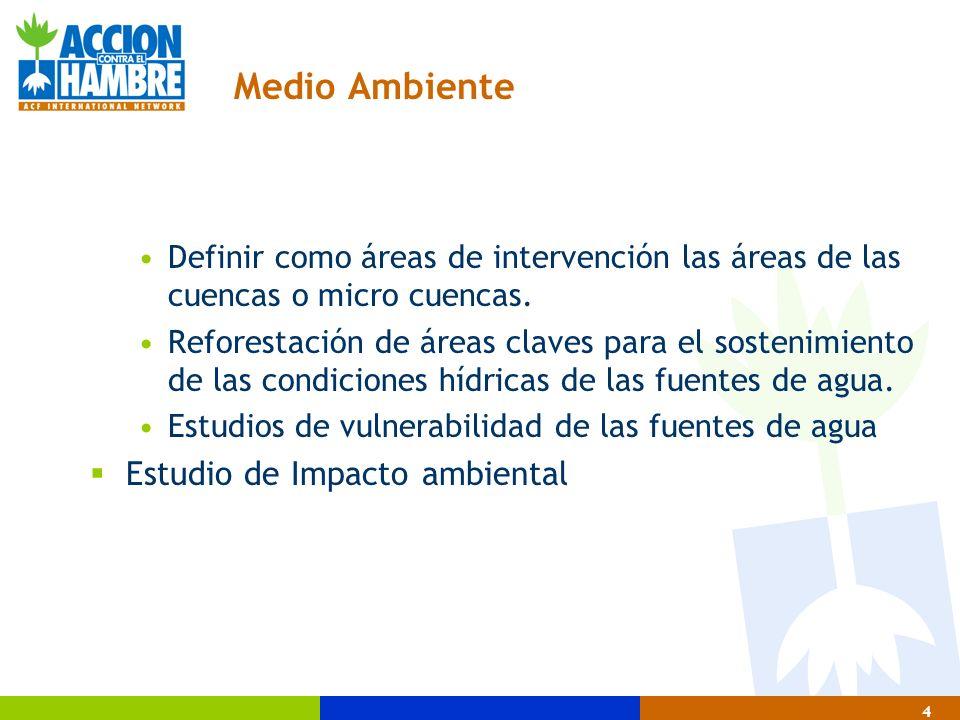 25 Metodología de intervención en agua y saneamiento 1.