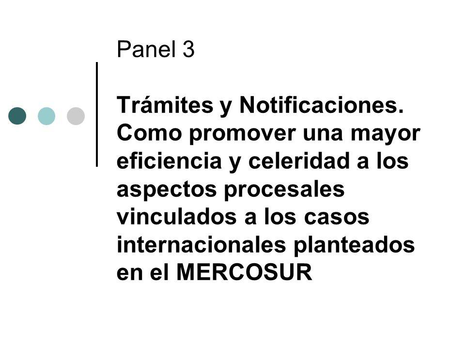 Panel 3 Trámites y Notificaciones.