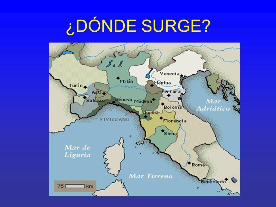 ¿DÓNDE SURGE?