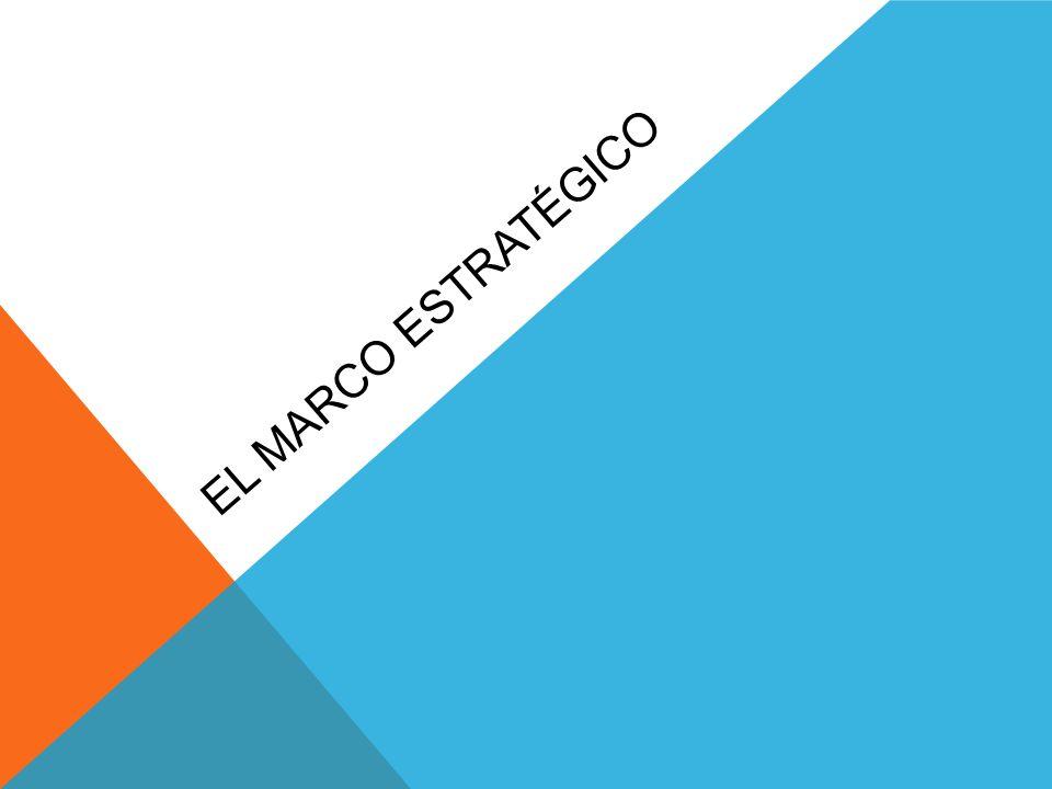 EL MARCO ESTRATÉGICO