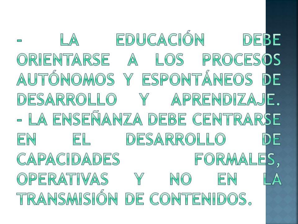 Es un proceso de aprendizaje guiado, apoyado por el adulto, cuyo objetivo es el traspaso de competencias desde éste al niño/a y así la ascensión paulatina de competencias y responsabilidades por parte del alumno/a.competencias