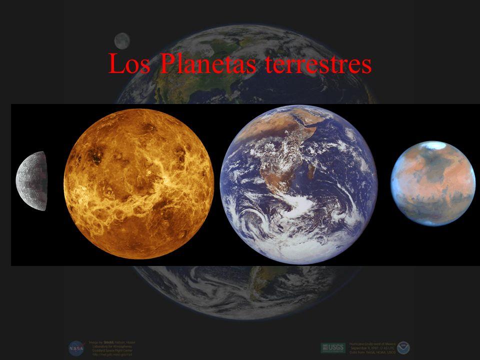 Los Planetas terrestres