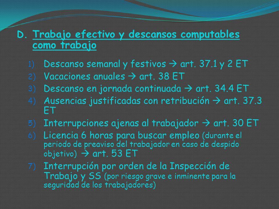2.SALARIO EN METÁLICO Y SALARIO EN ESPECIE I.
