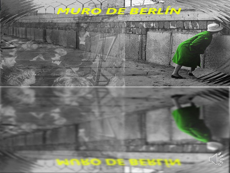 INDICE: División de Berlín El muro Cierre de todas las vías de comunicación Construcción del muro Consecuencias El muro y los intentos de fuga El muro de Berlín en la actualidad