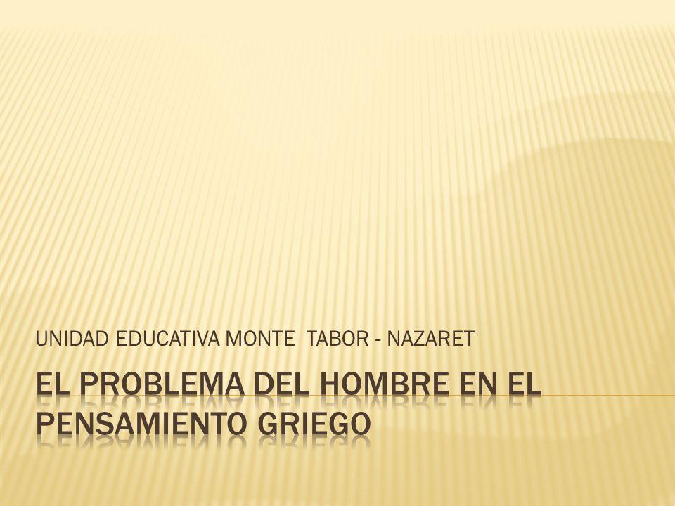 UNIDAD EDUCATIVA MONTE TABOR - NAZARET