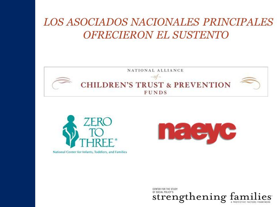 LOS ASOCIADOS NACIONALES PRINCIPALES OFRECIERON EL SUSTENTO
