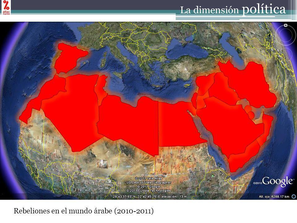 Rebeliones en el mundo árabe (2010-2011) La dimensión política
