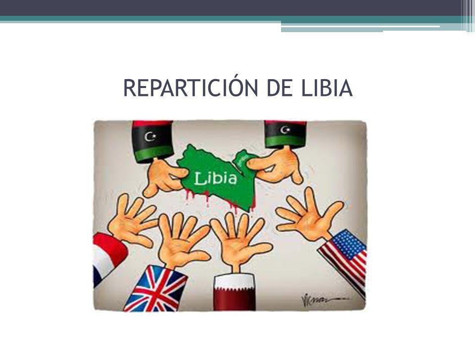 REPARTICIÓN DE LIBIA