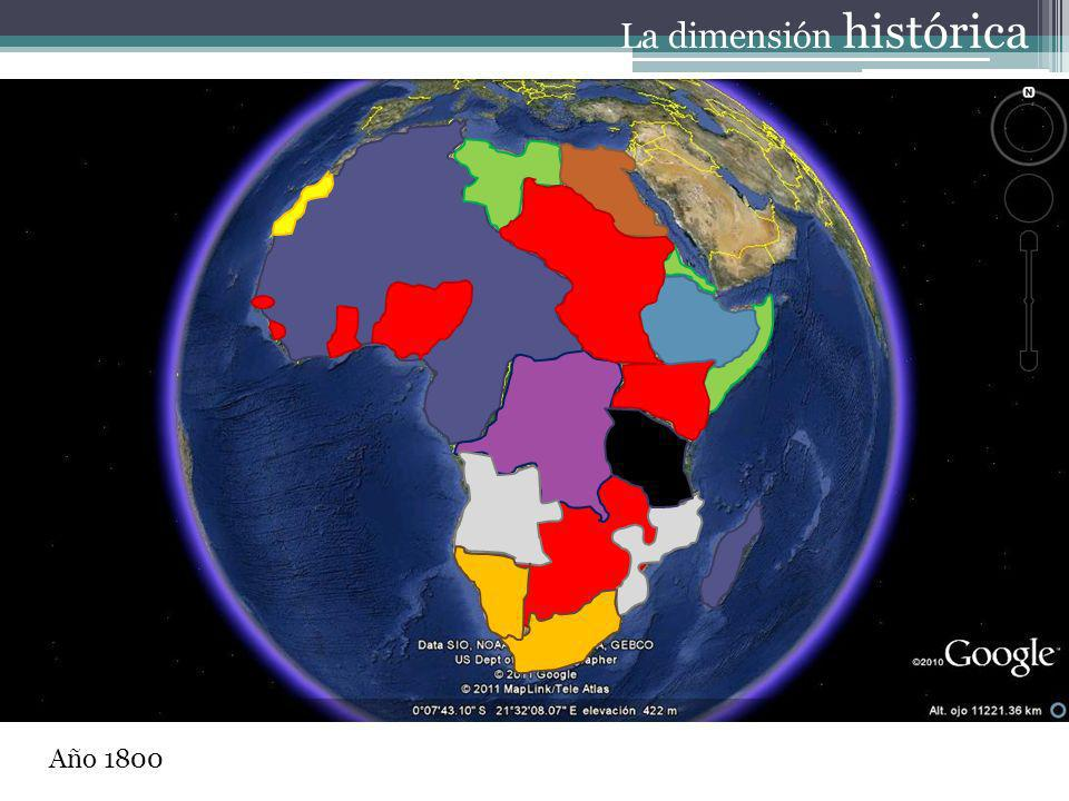 Año 1800 La dimensión histórica