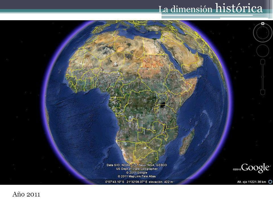Año 2011 La dimensión histórica