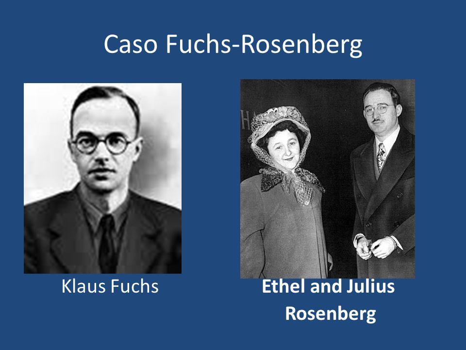 Eisenhower: Yo sólo puedo decir que las actividades de los Rosenberg, probadas por las distintas instancias judiciales, en caso de guerra nuclear pueden haber ayudado a la condena de millones de personas que inevitablemente morirían en todo el mundo.