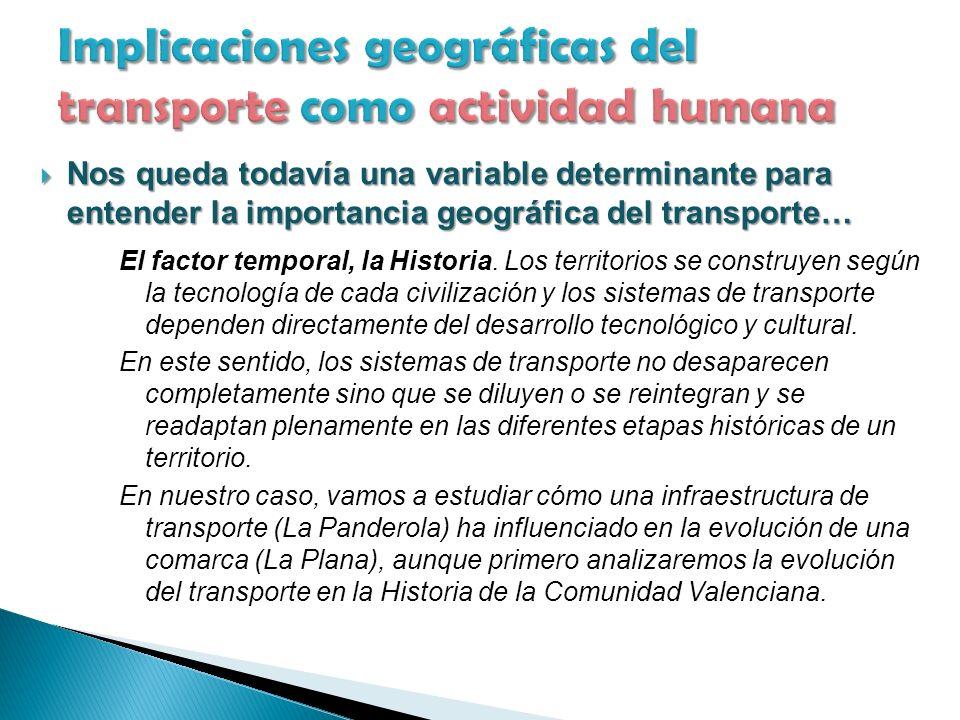 El factor temporal, la Historia.
